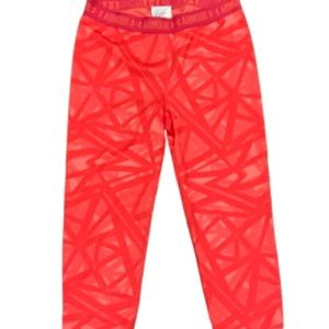 Under Armour heat gear leggings pink SMALL